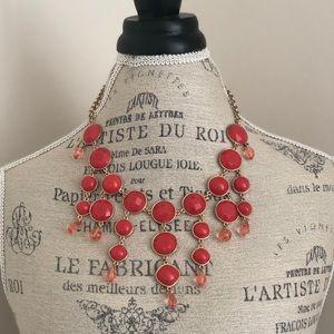 Jewelry - Dark Coral Necklace
